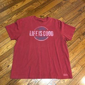 Men's Life is Good T-shirt XL
